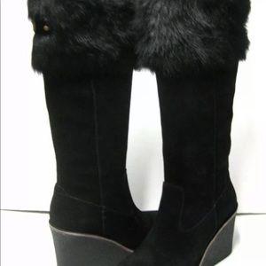 Sz 8 ugg boots black Valberg
